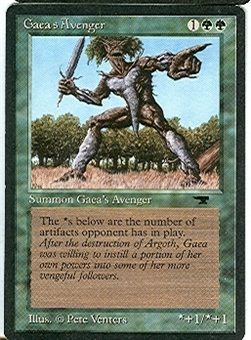 Magic the Gathering Antiquities Single Gaea's Avenger - NEAR MINT (NM)