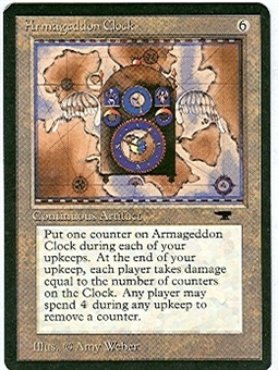 Magic the Gathering Antiquities Single Armageddon Clock - NEAR MINT (NM)