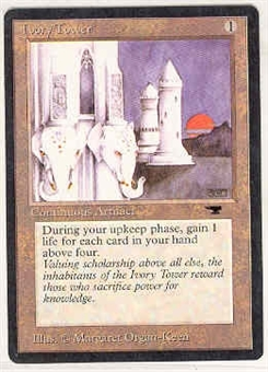 Magic the Gathering Antiquities Single Ivory Tower UNPLAYED (NM/MT)