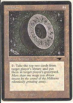 Magic the Gathering Antiquities Single Millstone - SLIGHT PLAY (SP)