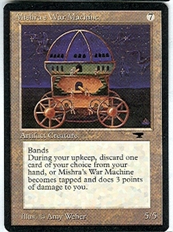 Magic the Gathering Antiquities Single Mishra's War Machine - NEAR MINT (NM)