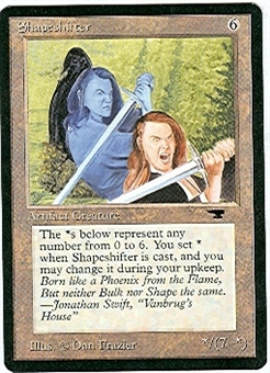 Magic the Gathering Antiquities Single Shapeshifter - SLIGHT PLAY (SP)