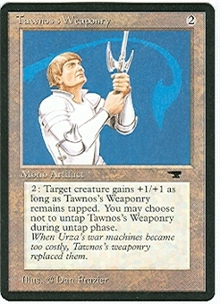 Magic the Gathering Antiquities Single Tawnos's Weaponry UNPLAYED (NM/MT)