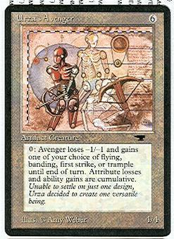 Magic the Gathering Antiquities Single Urza's Avenger UNPLAYED (NM/MT)