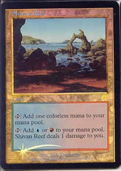 Magic the Gathering Apocalypse Single Shivan Reef Foil