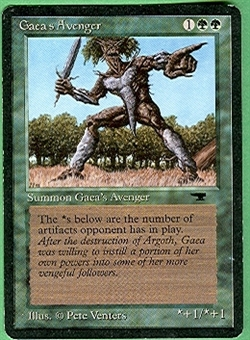 Magic the Gathering Antiquities Single Gaea's Avenger - SLIGHT PLAY (SP)