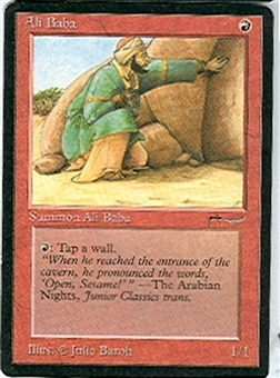 Magic the Gathering Arabian Nights Single Ali Baba LIGHT PLAY (NM)