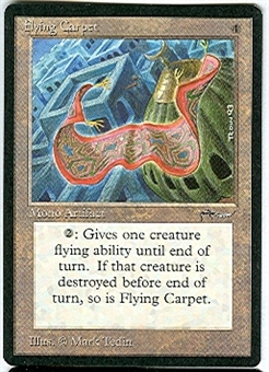 Magic the Gathering Arabian Nights Single Flying Carpet - NEAR MINT (NM)