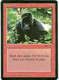 Magic the Gathering Arabian Nights Single Kird Ape - NEAR MINT (NM)