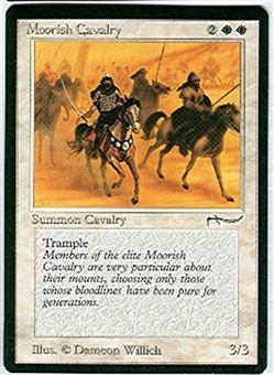Magic the Gathering Arabian Nights Single Moorish Cavalry (a) - NEAR MINT (NM)