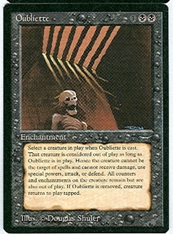 Magic the Gathering Arabian Nights Single Oubliette (a) - NEAR MINT (NM)