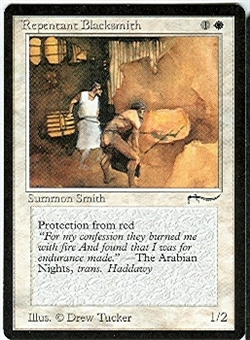 Magic the Gathering Arabian Nights Single Repentant Blacksmith - NEAR MINT (NM)