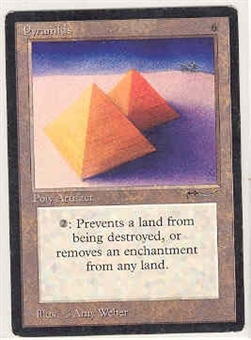 Magic the Gathering Arabian Nights Single Pyramids - SLIGHT PLAY (SP)