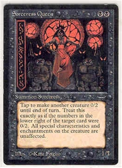 Magic the Gathering Arabian Nights Single Sorceress Queen - NEAR MINT (NM)