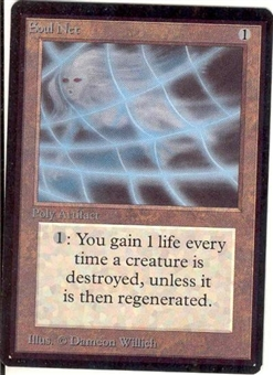 Magic the Gathering Beta Single Soul Net - NEAR MINT (NM)