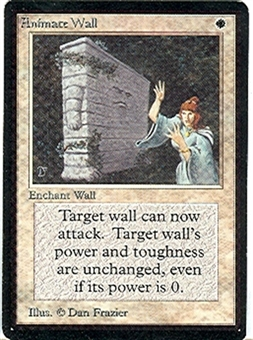 Magic the Gathering Beta Single Animate Wall UNPLAYED (NM/MT)