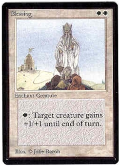 Magic the Gathering Beta Single Blessing - NEAR MINT (NM)