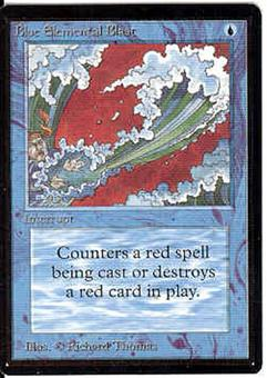 Magic the Gathering Beta Single Blue Elemental Blast - NEAR MINT (NM)
