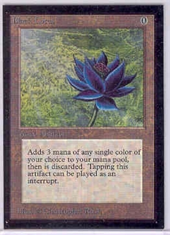 Magic the Gathering Beta CE Single Black Lotus UNPLAYED (NM/MT)