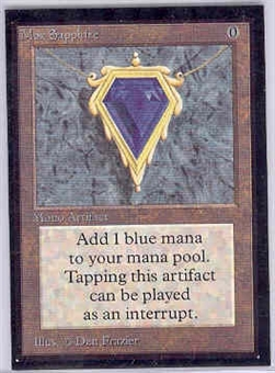 Magic the Gathering Beta CE Single Mox Sapphire - NEAR MINT (NM)