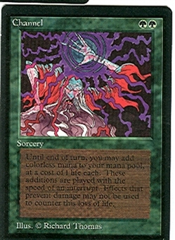 Magic the Gathering Beta Single Channel - NEAR MINT (NM)