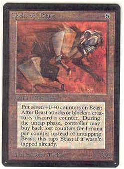 Magic the Gathering Beta Single Clockwork Beast - NEAR MINT (NM)