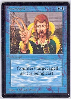 Magic the Gathering Beta Single Counterspell - SLIGHT PLAY (SP)