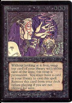 Magic the Gathering Beta Single Darkpact - SLIGHT PLAY (SP)