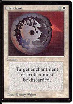 Magic the Gathering Beta Single Disenchant - NEAR MINT (NM)