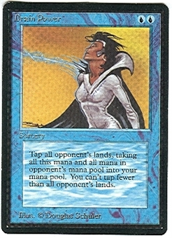 Magic the Gathering Beta Single Drain Power - NEAR MINT (NM)