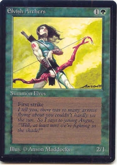 Magic the Gathering Beta Single Elvish Archers - NEAR MINT (NM)