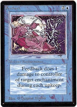 Magic the Gathering Beta Single Feedback - NEAR MINT (NM)