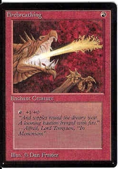 Magic the Gathering Beta Single Firebreathing - NEAR MINT (NM)
