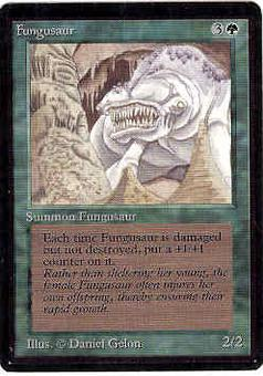 Magic the Gathering Beta Single Fungusaur - SLIGHT PLAY (SP)