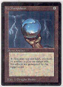 Magic the Gathering Beta Single Icy Manipulator - NEAR MINT (NM)