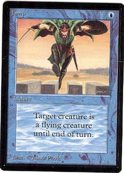 Magic the Gathering Beta Singles 4x Jump - NEAR MINT (NM)