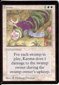 Magic the Gathering Beta Single Karma - NEAR MINT (NM)