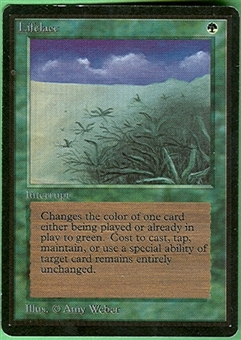 Magic the Gathering Beta Single Lifelace - NEAR MINT (NM)