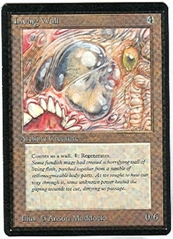 Magic the Gathering Beta Single Living Wall - NEAR MINT (NM)