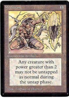 Magic the Gathering Beta Single Meekstone - SLIGHT PLAY (SP)