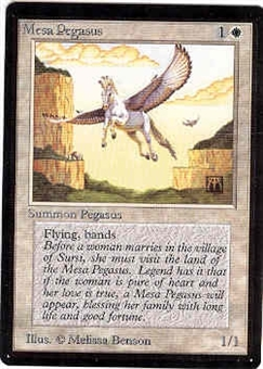 Magic the Gathering Beta Single Mesa Pegsus - SLIGHT PLAY (SP)