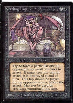 Magic the Gathering Beta Single Nettling Imp - NEAR MINT (NM)