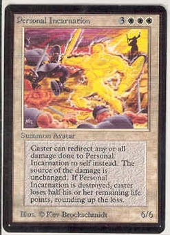 Magic the Gathering Beta Single Personal Incarnation UNPLAYED (NM/MT)