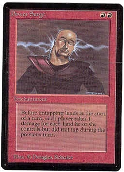 Magic the Gathering Beta Single Power Surge UNPLAYED (NM/MT)