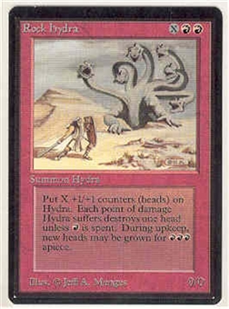 Magic the Gathering Beta Single Rock Hydra - NEAR MINT (NM)