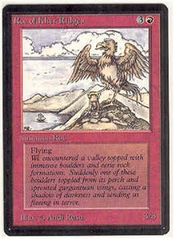 Magic the Gathering Beta Single Roc of Kher Ridges - NEAR MINT (NM)