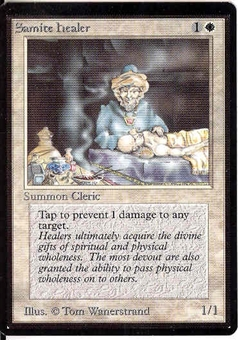 Magic the Gathering Beta Single Samite Healer - NEAR MINT (NM)