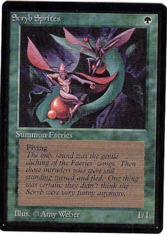 Magic the Gathering Beta Single Scryb Sprites - NEAR MINT (NM)