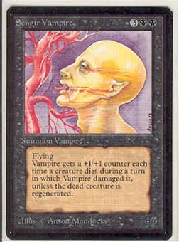 Magic the Gathering Beta Single Sengir Vampire - NEAR MINT (NM)