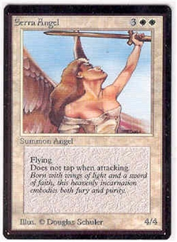 Magic the Gathering Beta Single Serra Angel UNPLAYED (NM/MT)